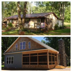 gina lee lake side before and after may 2016
